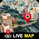 360パノラマのストリートビューとライブ地球地図