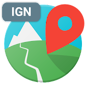 Cartes IGN (plugin E-walk)