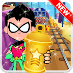 Brave Teen Titans - Go Adventure Runner Robin Icon