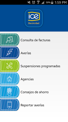 ICE Electricidad - screenshot