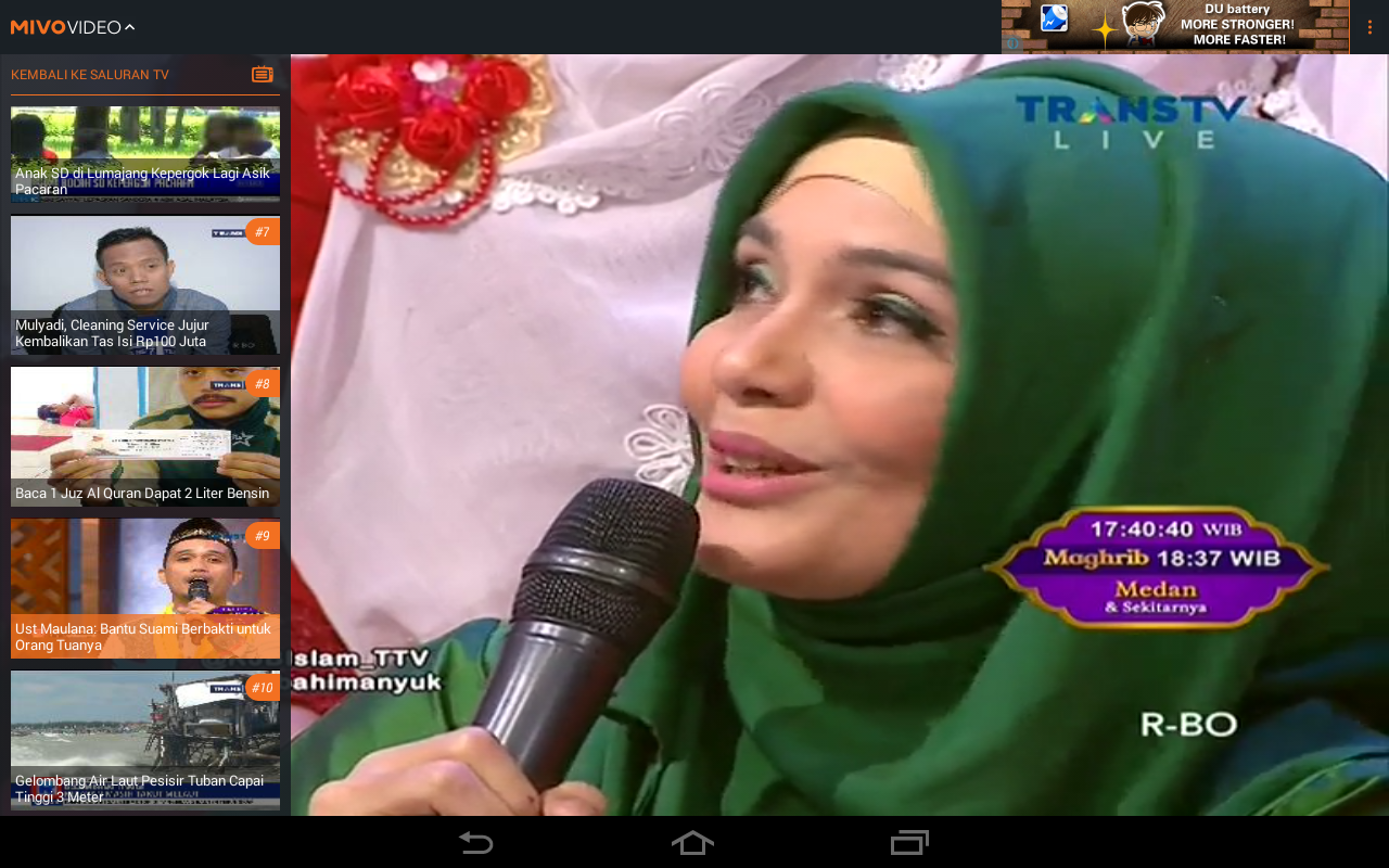 Mivo - Nonton TV & Artis- screenshot