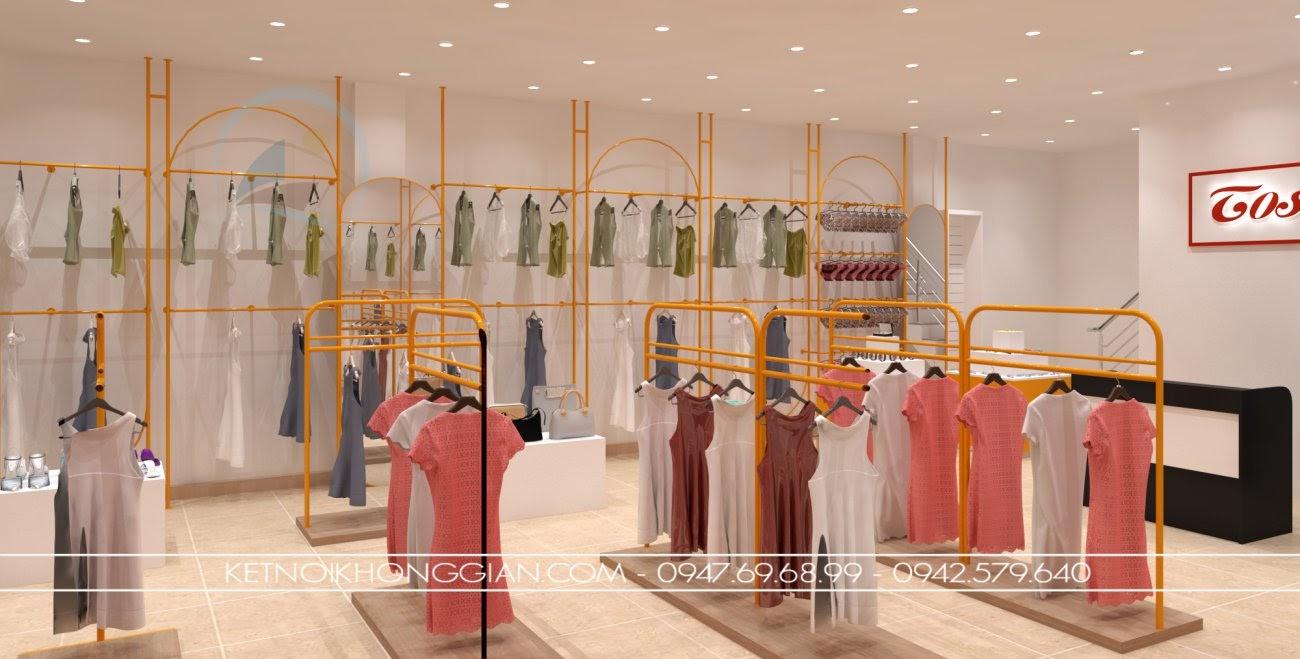 thiết kế shop thời trang hà nội