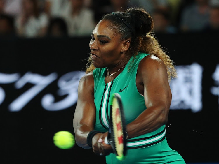 Serena Williams of the US in action at the Australian Open in Melbourne, Australia, January 17 2019. Picture: REUTERS/EUGENIE BOUCHARD