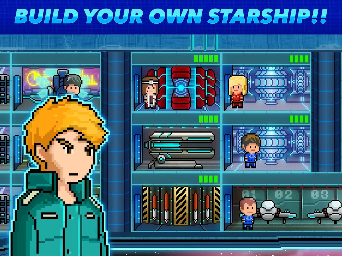 Pixel Starships™ (Early Access Beta) (Unreleased)- screenshot