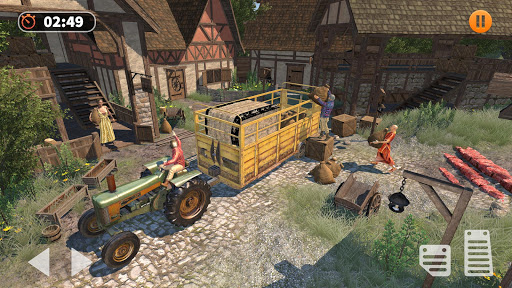 Tractor Farming Simulator - Big Farm Tractor Games apkmr screenshots 2