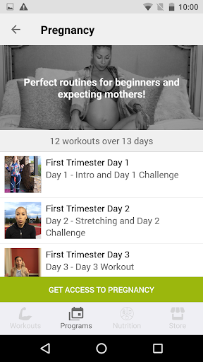 Screenshot for Get BODIED by J - Health & Fitness in United States Play Store