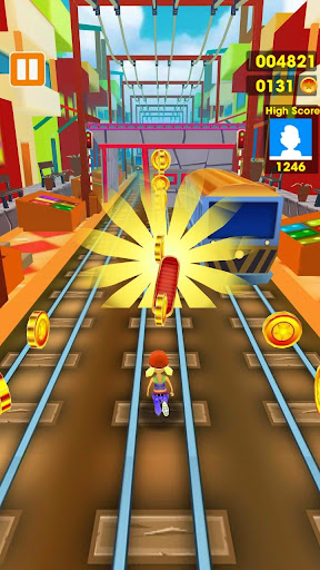 Subway Run - Train Surfing 3D 1.0 screenshots 3
