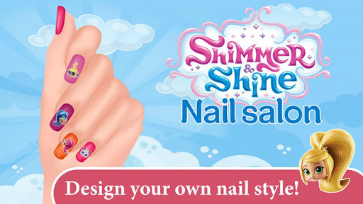 Shimmer and Shine Nail Salon  captures d'écran 1