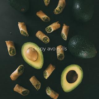 Crispy Avocado Egg Roll