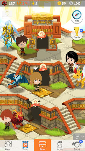 Battle Camp - Monster Catching screenshot 6