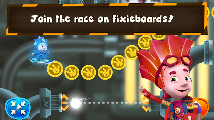 Fiksiki Sky Run: Endless Games- screenshot thumbnail