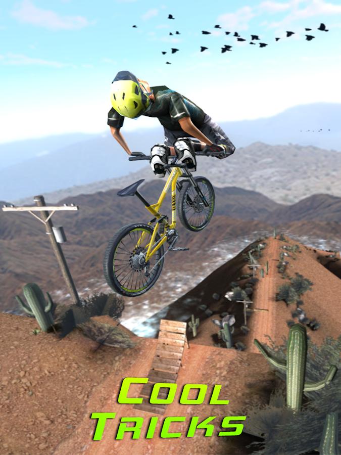 لعبة Bike Dash لقيادة الدراجات الهوائية بحركات رهيبة