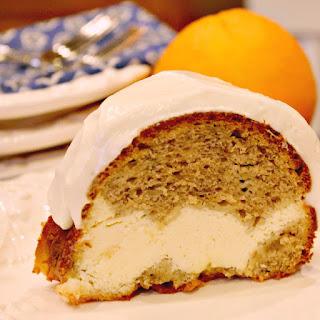Banana Bread Cream Cheese Bundt Cake.