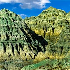 Blue Basin by Dennis Mai - Landscapes Mountains & Hills ( blue basin, oregon, john day, cascades )