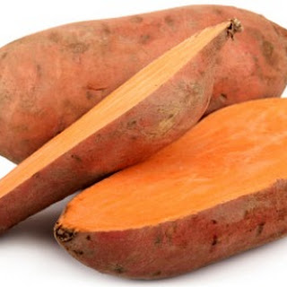 Healthy Sweet Potato Skins.