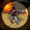 Rooftop 3D Sniper Secret Agent icon