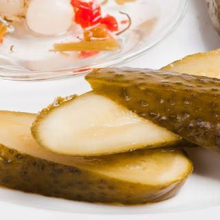 Polish Dill Refrigerator Pickles