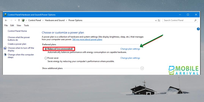 Windows 10 Display Won't Turn Off: Step 1