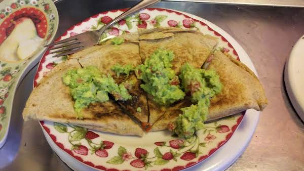 Easy Quesadillas With Fresh Guacamole
