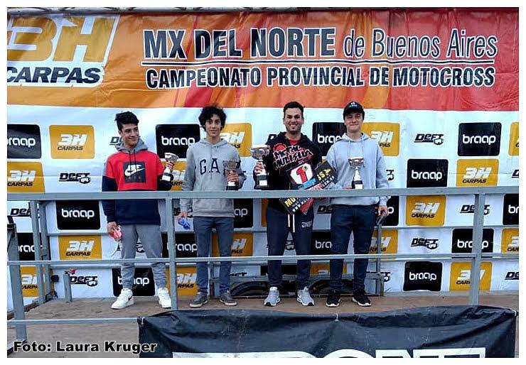 Tommy Brazao sorprendió en el podio de Bragado