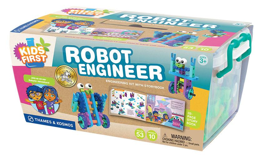 Robot toys: Thames & Kosmos Robot Engineer