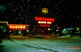 Photo: That's not blurred, I'm shivering? Last trip to Elko 2001