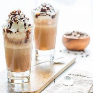 Homemade Mocha Frappuccino.
