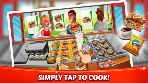 Fast Food Craze - Kitchen Cooking Games Madness - screenshot