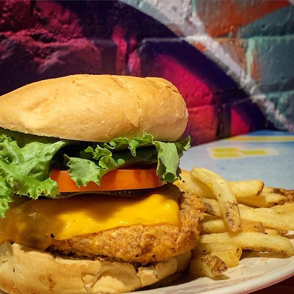 Vegan Chick'n Burger