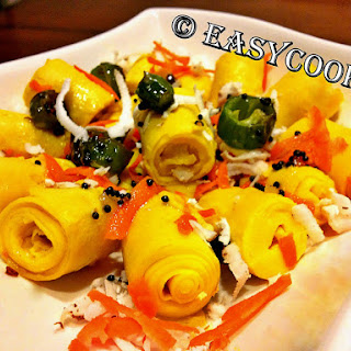 Khandvi – Indian Gram Flour Snack