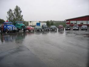 Photo: Autorivistöä Jalasjärvellä