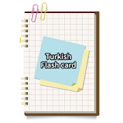 Turkish simple flash card
