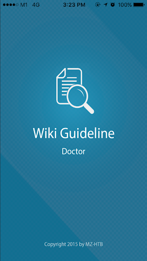 Wiki Guidelines Doctor