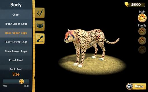 Wild Cheetah Sim 3D apkpoly screenshots 7