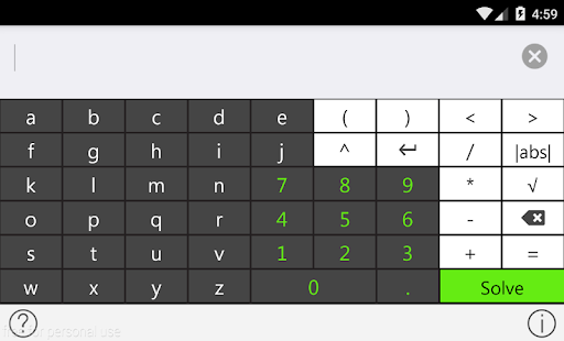 Tiger Algebra Solver- screenshot thumbnail