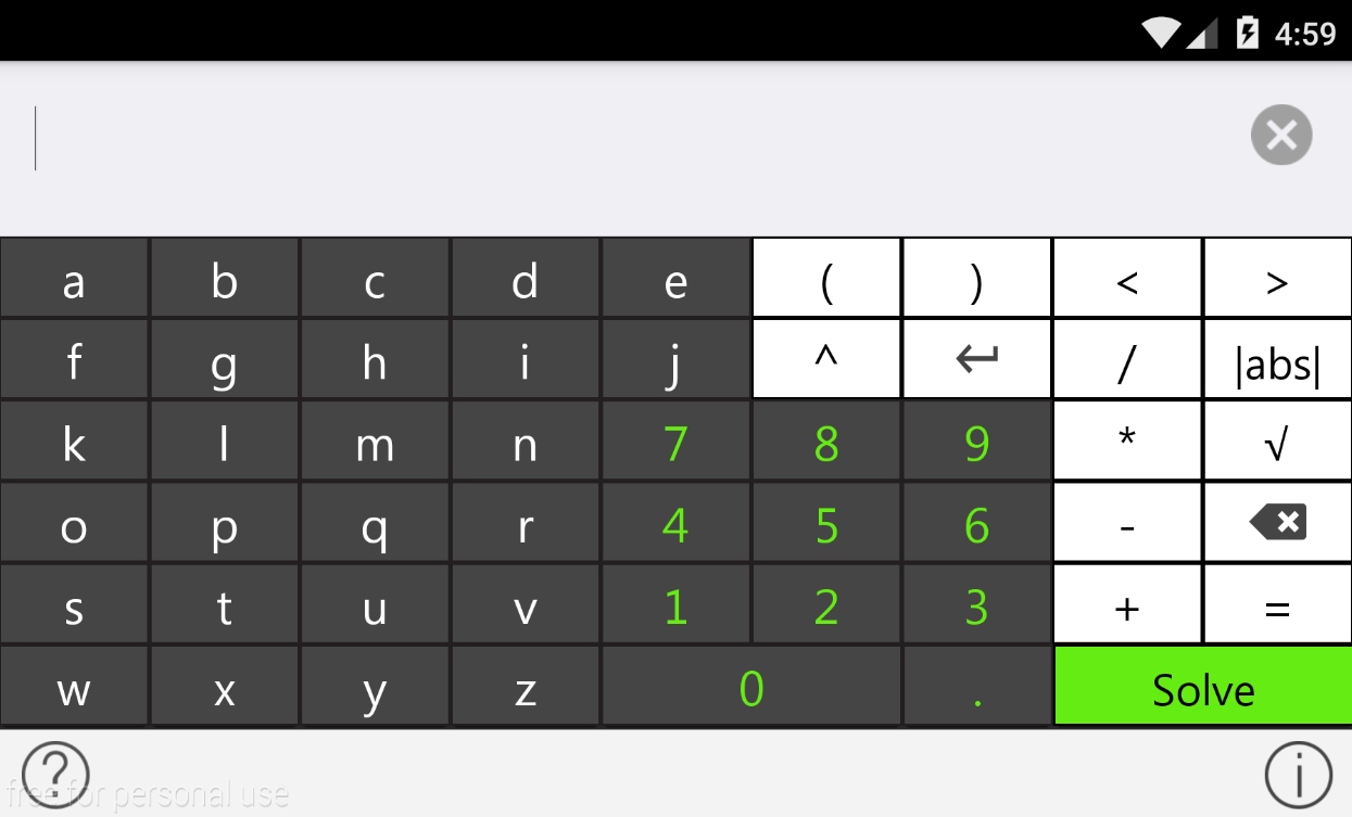tiger algebra solver android apps on google play tiger algebra solver screenshot