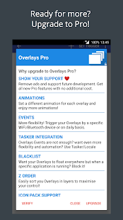 Overlays - Floating Automation Screenshot