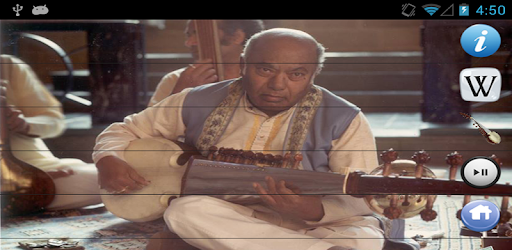Ustad Ali Akbar Khan - Sarod app (apk) free download for Android/PC/Windows screenshot