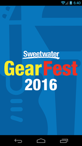 Sweetwater GearFest 2016