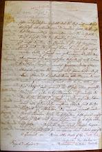 Photo: 12. Fridricho Rericho (N.Rericho senelio) laiškas sūnėnui Aleksandrui. Parašytas vokiečių kalba, 27.04.1867. (Liepojos muziejaus archyvas, LM 14545:9)
