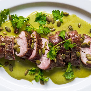 Green Curry Pork Tenderloin.
