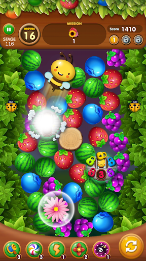 Fruits Crush - Link Puzzle Game 1.0025 screenshots 4
