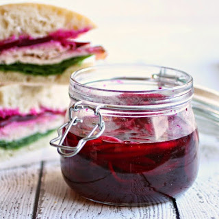 Crunchy Pickled Beets