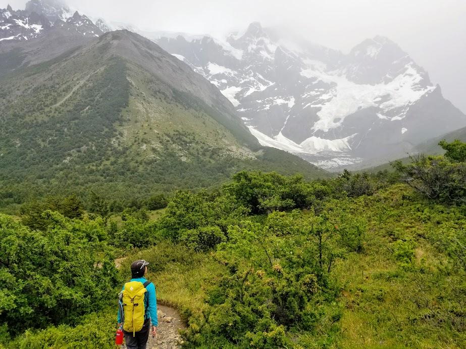 Somewhere along W Trek, Torres del Paine