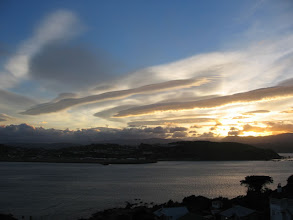 Photo: Early morning lenticular clouds in Wellington - 7:22am, 10-Mar-05