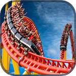 Simulate VR Roller Coaster Icon