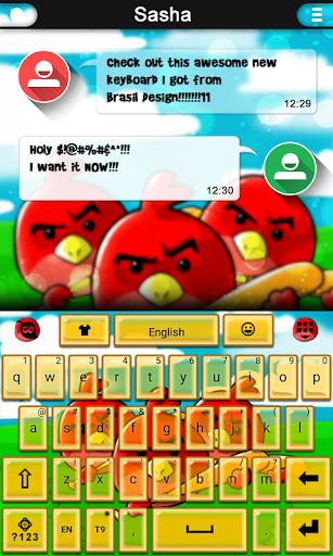 Birds Keyboard theme