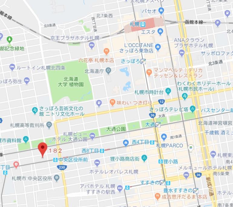 地図:アトリエ・モリヒコ(ATELIER Morihiko)