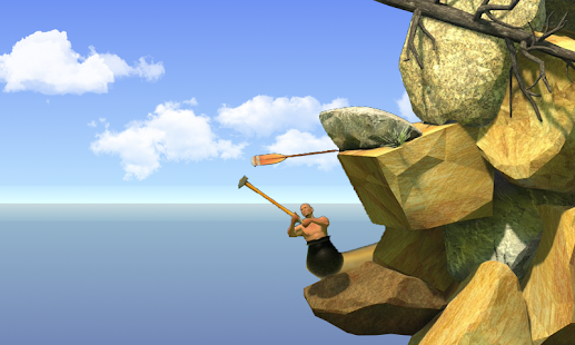 Getting Over it with hammerman - náhled