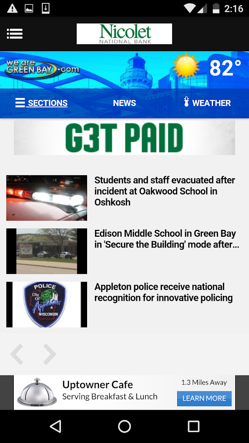 WFRV Local5 News WeAreGreenBay- screenshot
